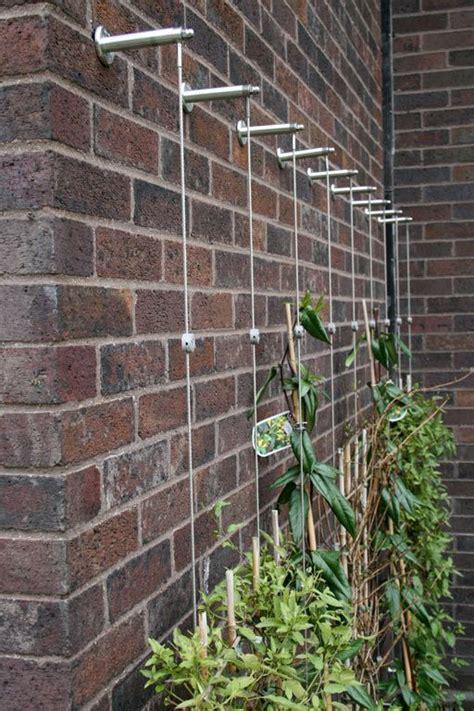 trellis system garden design trellis systems facade bois