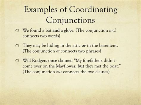 exle of conjunction ppt conjunction powerpoint presentation id 2125929