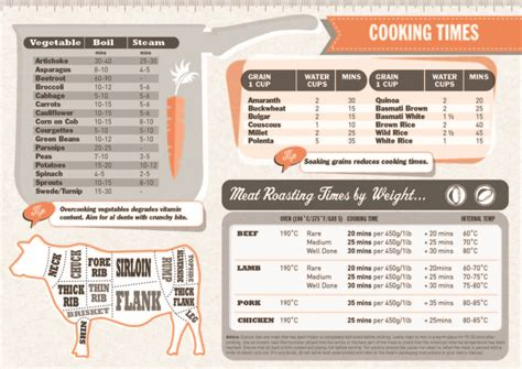 cooking infographics cooking cheat sheet infographic