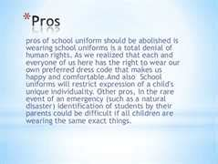 No School Uniforms Essay by Quot Are School Uniforms Necessary For Student Quot