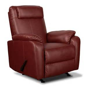 spectrum leather rocker recliner value city furniture