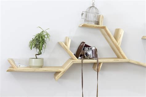 the oak branch shelf tree branch shelves by bespoak book