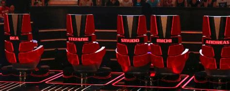 the voice of germany stuhl quot the voice quot jury sessel kosten unglaubliche 75 000 euro
