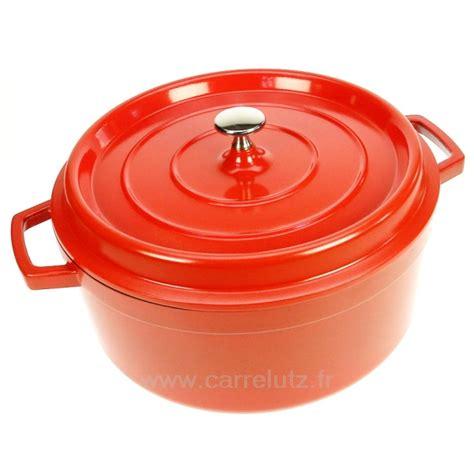 cuisine cocotte en fonte cocotte en fonte d aluminium ronde diam 232 tre 28 cm lacor