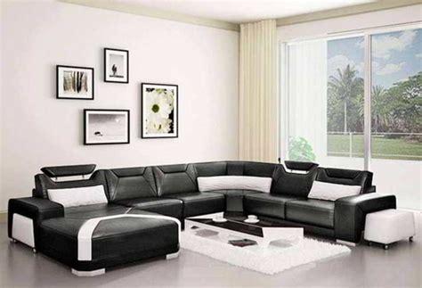 Sofa Hitam Putih 10 perpaduan warna yang cocok untuk ruang tamu renovasi