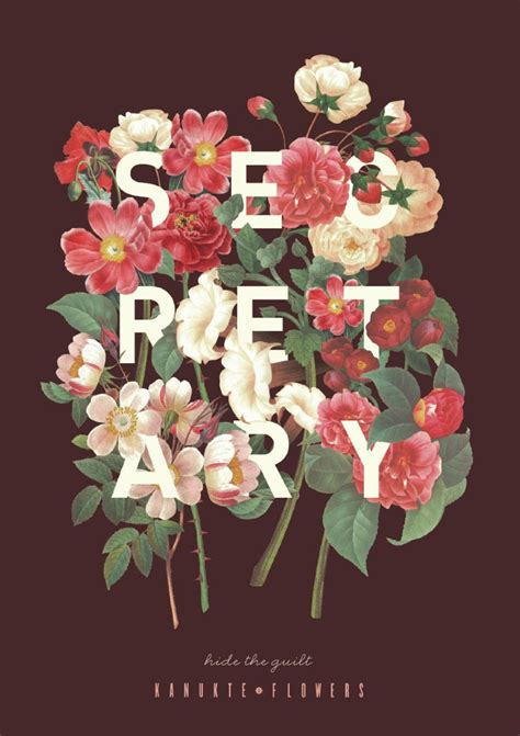 a florist is advertising five types of bouquets remorseful flower ads quot flower posters quot