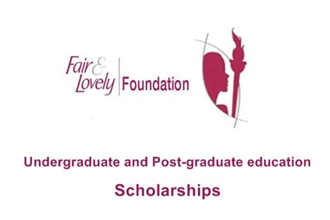 Foundation Fair And Lovely Fair And Lovely Foundation Scholarship 2017 Scholarships
