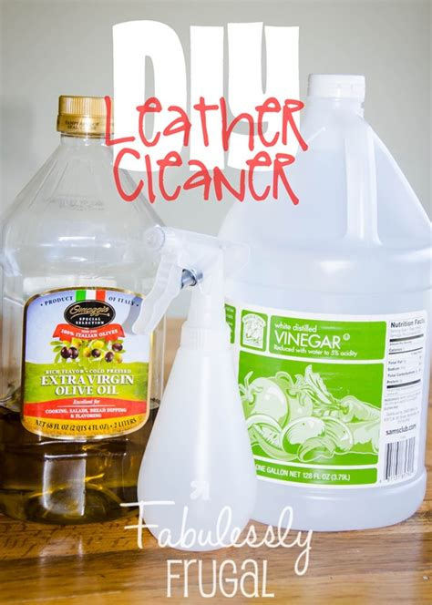 best product to clean leather diy 2 ingredient leather cleaner and conditioner fabulessly frugal