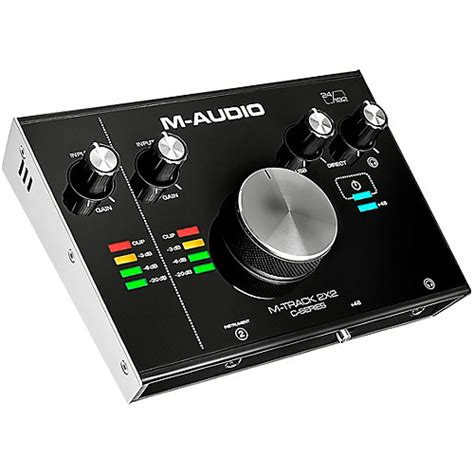 Usb Guitar Interface m audio m track c series 2x2 usb audio interface guitar