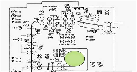 what is section 370 fuji 370 printer section sensor arrangement diagram fuji