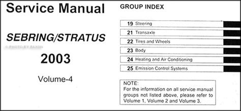 28 2003 chrysler sebring owners manual 29737 2003 chrysler sebring convertible owners