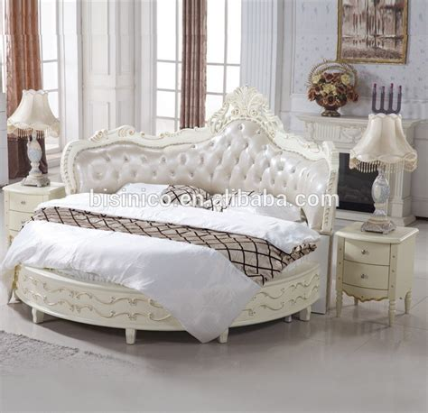 round bed luxury wooden round bed wood double white round bed buy