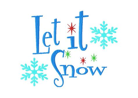 design is free free let it snow machine embroidery design daily embroidery