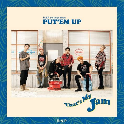 Pre Order Bap 5th Mini Album Carnival Special Ver Poster b a p put em up gasoo kpop galore
