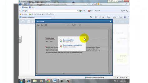 youtube edmodo student tutorial edmodo annotation for students youtube