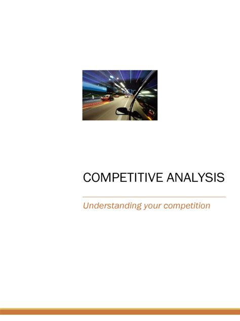 Nyu Mba Competitive by Competitor Analysis Template 5 Free Templates In Pdf