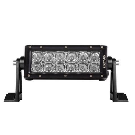6 In Waterproof Led Light Bar With Osram Bright White Led Light Bar Waterproof
