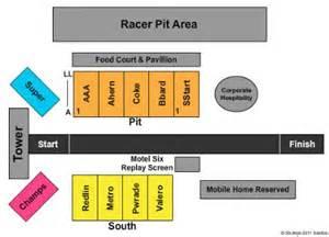motorplex seating map motorplex tickets in ennis motorplex