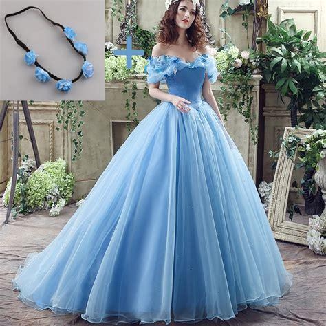 Brautkleider Blau by Buy Wholesale Cinderella Bridal Gowns From China