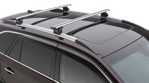 subaru roof rack accessories shop genuine 2018 subaru outback accessories subaru of