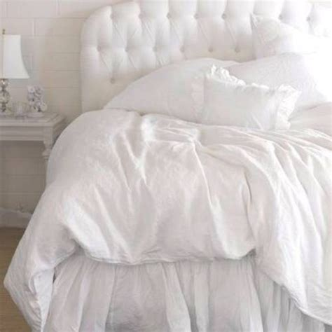 white puffy comforter bedding so then they say