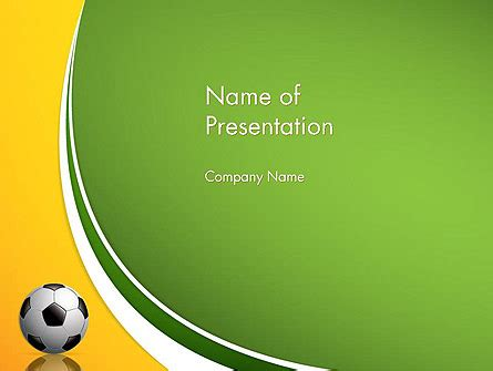 powerpoint themes soccer soccer theme powerpoint template backgrounds 12182