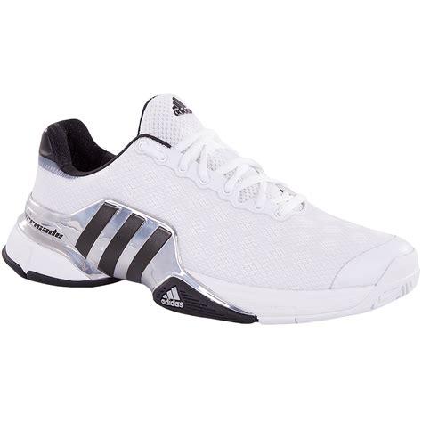 adidas barricade 2015 s tennis shoe white black