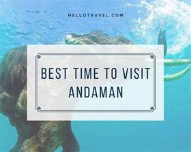 best time to visit andaman nicobar islands climate of