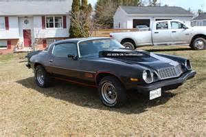 1977 chevy camaro z28