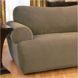 Loveseat Slipcover Sure Fit Stretch Pique Loveseat T Cushion Slipcover