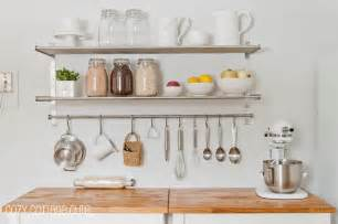 kitchen organization ikea grundtal wall shelves rails