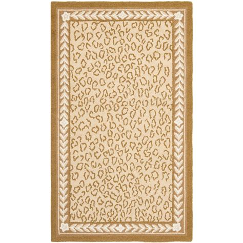 9 X 11 Area Rugs Safavieh Chelsea Ivory 8 Ft 9 In X 11 Ft 9 In Area Rug Hk15b 9 The Home Depot