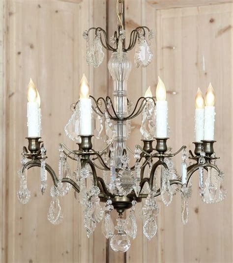 How To Decorate A Chandelier With Crystals 17 Best Images About Antique Chandelier To Decorate Your Home In Style On Pinterest
