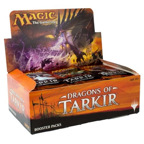 Magic The Gathering Booster Pack Dragons Of Tarkir dragons of tarkir booster box 36 booster packs magic