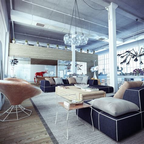 industrial home decor industrial loft with whimsical decor interior design ideas