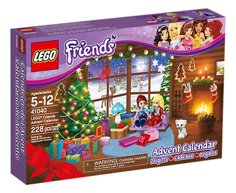 Lego 41040 Friends Advent Calender lego 174 friends advent calendar 41040 friends lego shop