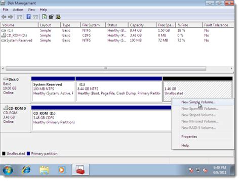 format cd sini okumuyor tutorial cara buat partition hard disk johan rakyat
