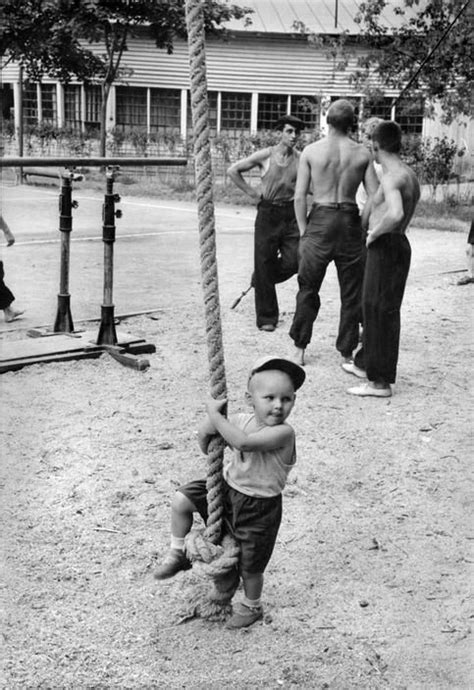 At Gorky Park of Culture and Rest, Moscow, 1954 by Henri