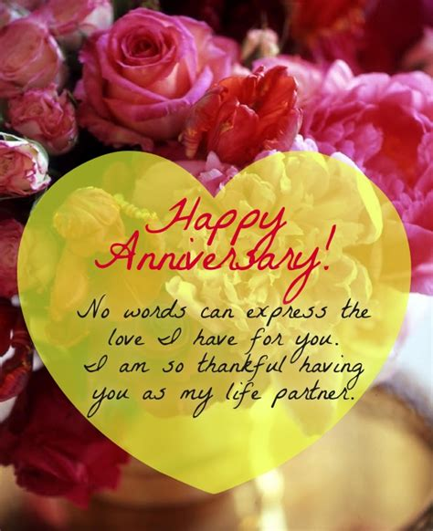 Wedding Anniversary Wishes Words by Best Anniversary Quotes For Husband To Wish Him