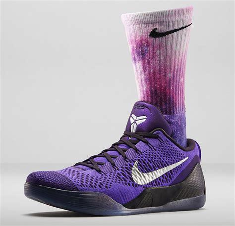socks for basketball shoes nike 9 hyper grape digital ink socks sportfits