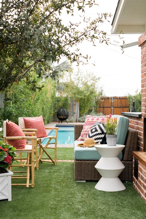 backyard living ideas how to breathe new life into your outdoor living room hgtv