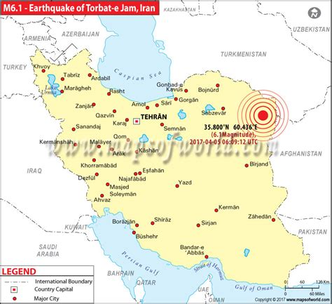 earthquake iran iran earthquake map areas affected by earthquake in iran
