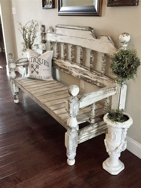 make bench out of headboard 25 best ideas about full size beds on pinterest full