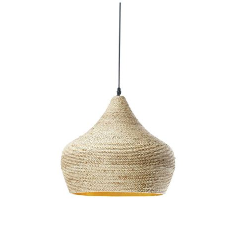 maison du monde suspension ghabou ethnic pendant l in woven hemp d 40cm maisons