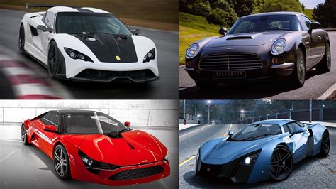 5 modern sports cars you ve probably never heard of top