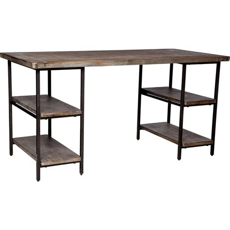 metal and wood computer desk wooden computer table wood metal office desk computer writing shelves rustic