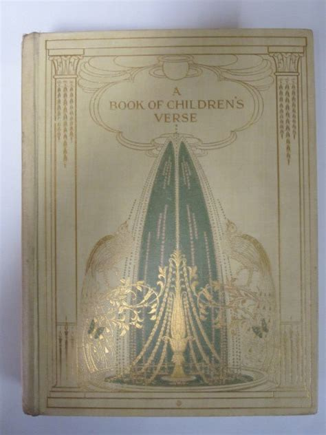 quiller couch a book of children s verse written by quiller couch mabel