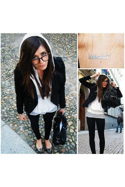 Jaket Salur Grey White black h m jackets white pinko jakets gray guess scarpes black zara quot town quot by