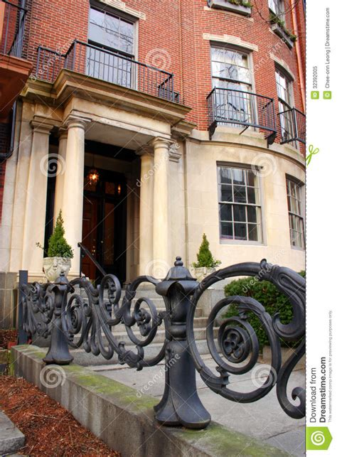 beacon hill boston royalty free stock photo image 32392005