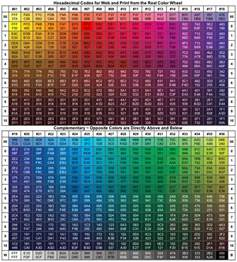 hexadecimal color codes image gallery hex color codes